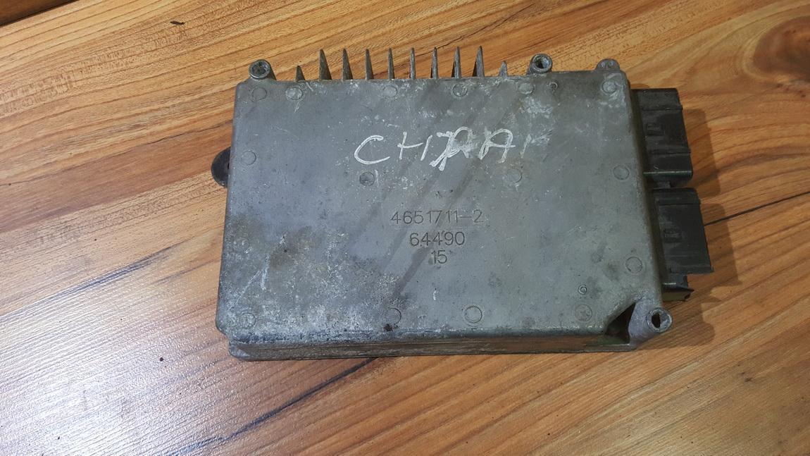 Variklio kompiuteris 4651711 64490 Chrysler VOYAGER 1997 2.0