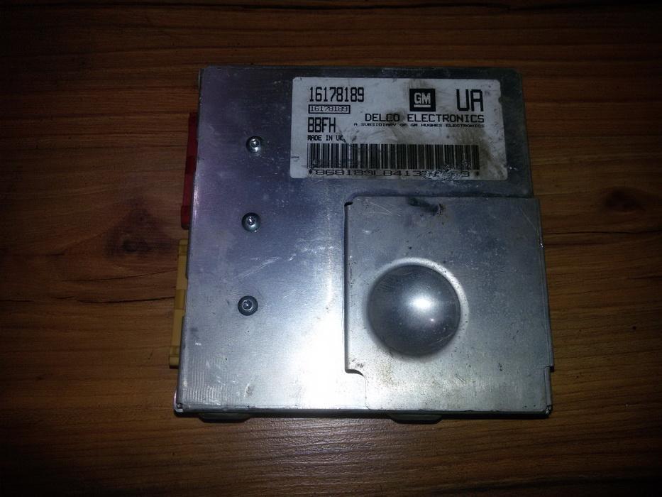 Variklio kompiuteris 16178189  Opel TIGRA 1995 1.6