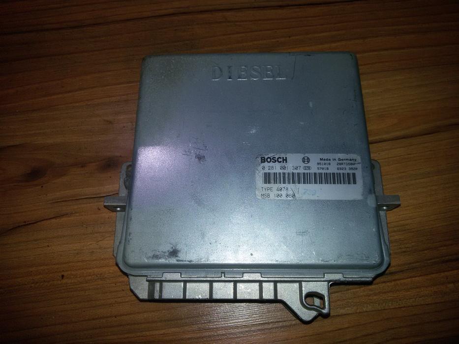 Variklio kompiuteris 0281001307 msb100060 Rover 600-SERIES 1996 2.0