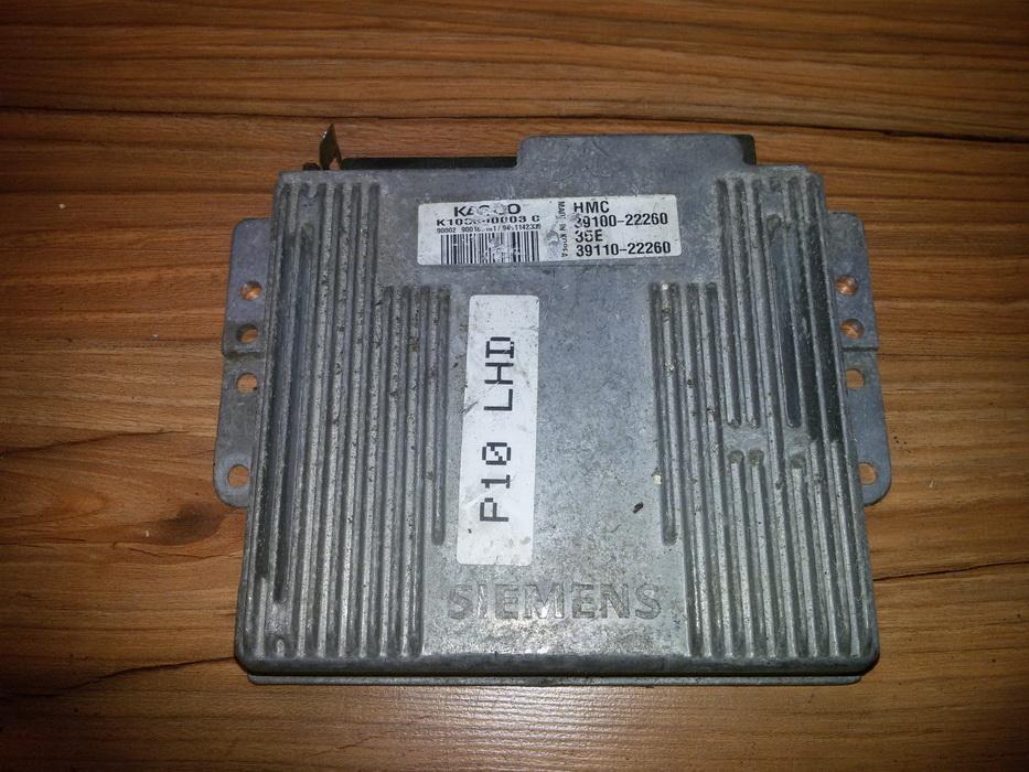 Variklio kompiuteris 3910022260 39110-22260 Hyundai ACCENT 1997 1.5
