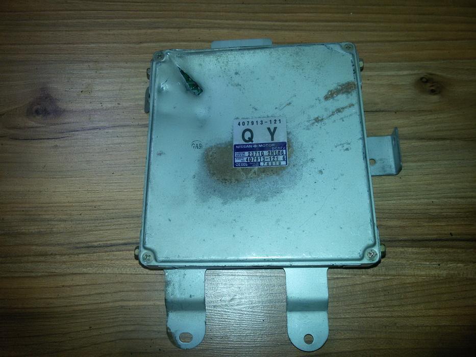 ECU Engine Computer (Engine Control Unit) 407913121 237102n106, 407913-121 Nissan ALMERA 1996 1.4