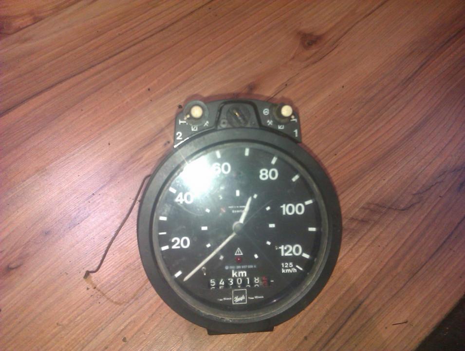 Speedometers - Cockpit - Speedo Clocks Instrument 281957039K   Volkswagen LT 1998 2.5