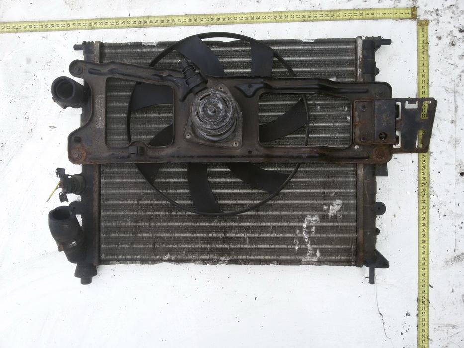 Renault  Scenic Difuzorius (radiatoriaus ventiliatorius)