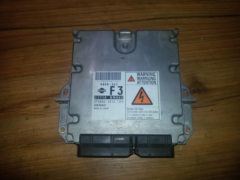 Variklio kompiuteris 23710bn862 5800-321, 275800-3212 Nissan ALMERA 2000 2.2