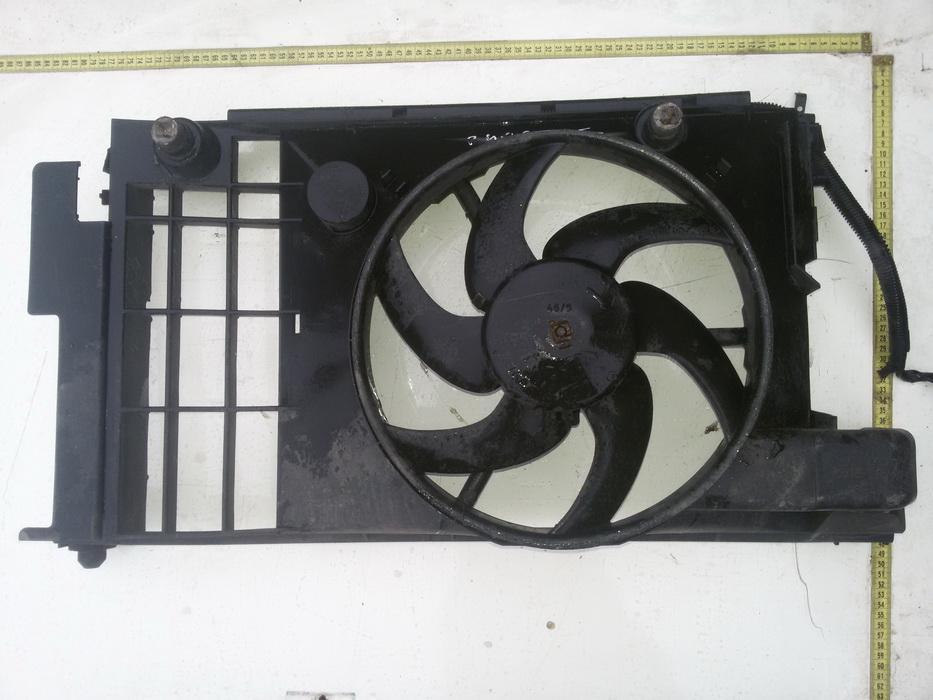 Difuzorius (radiatoriaus ventiliatoriaus) Peugeot  406, 1995.11 - 1999.03