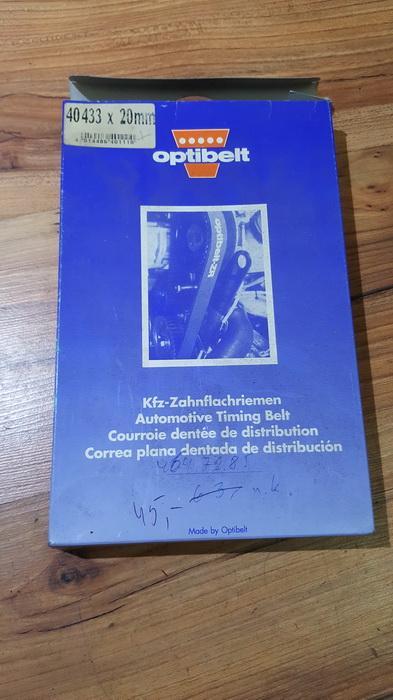 Paskirstymo Dirzas Opel Ascona 1987    1.6 40433x20mm