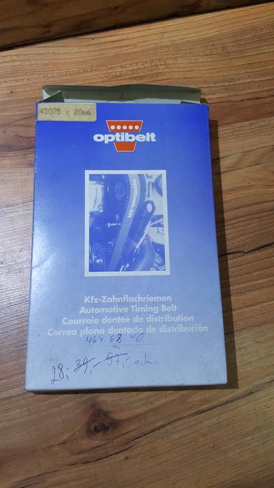 Paskirstymo Dirzas Audi 100 1986    2.0 45075x20mm