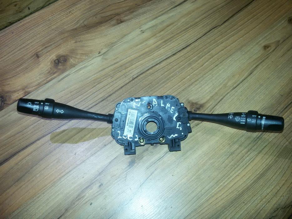 Steering Wheel Stalks and Hazard Switch  54034853 36990b, 257sa-54394781e, 36851b Nissan ALMERA 2000 2.0
