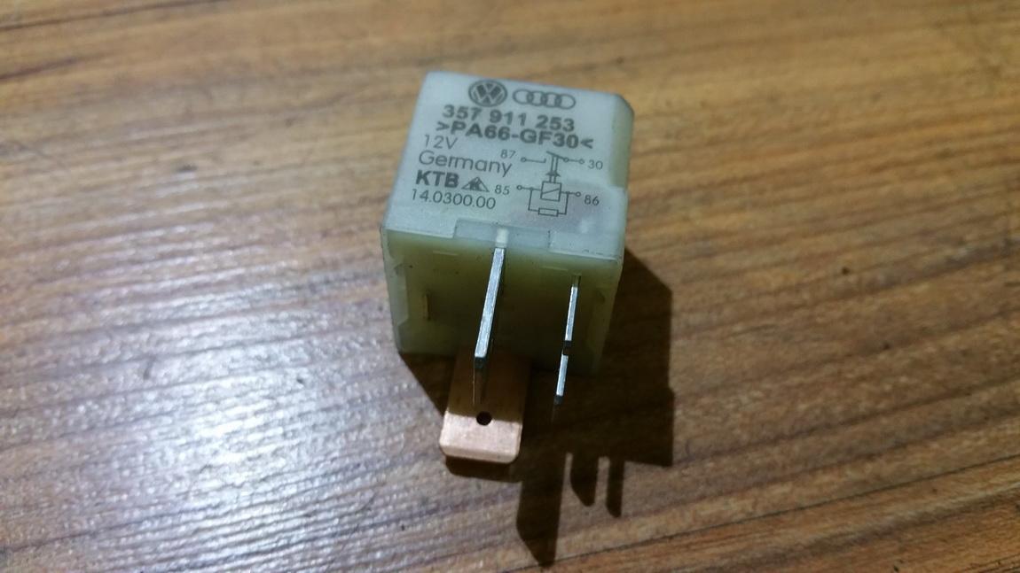 Relay module 357911253 14.0300.00, 103 Volkswagen GOLF 2007 1.9