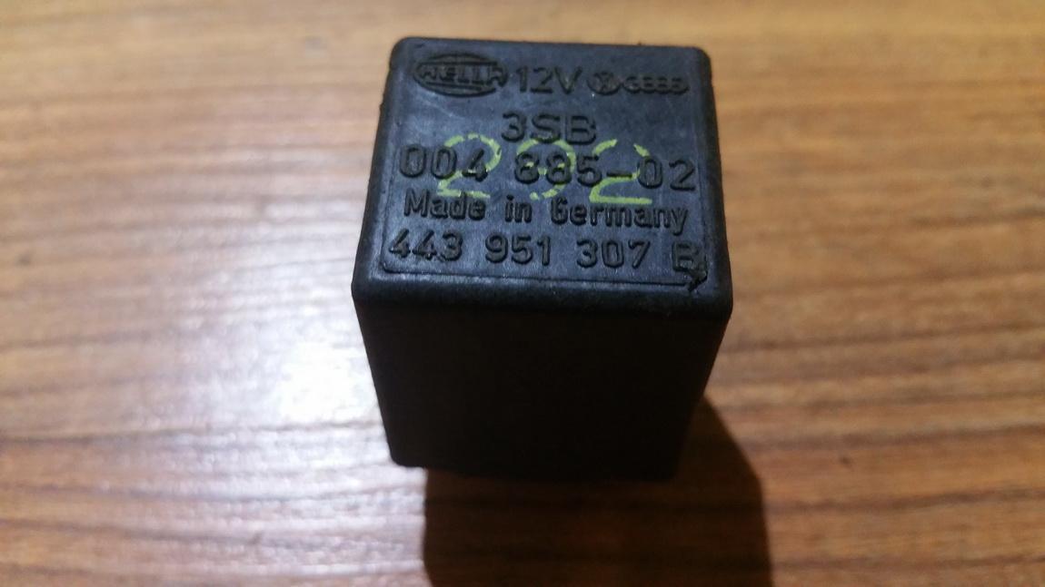 Rele 443951307b 3sb004885-02, 3sb00488502 Audi 80 1992 2.0