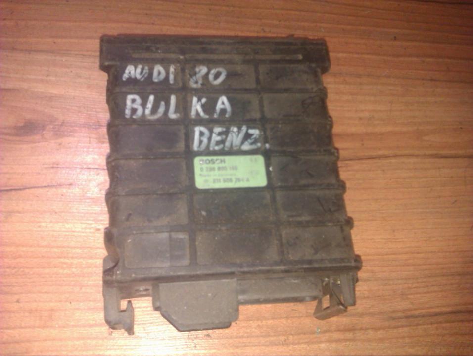Блок управления двигателем 0280800140 811906264a Audi 80 1988 1.6