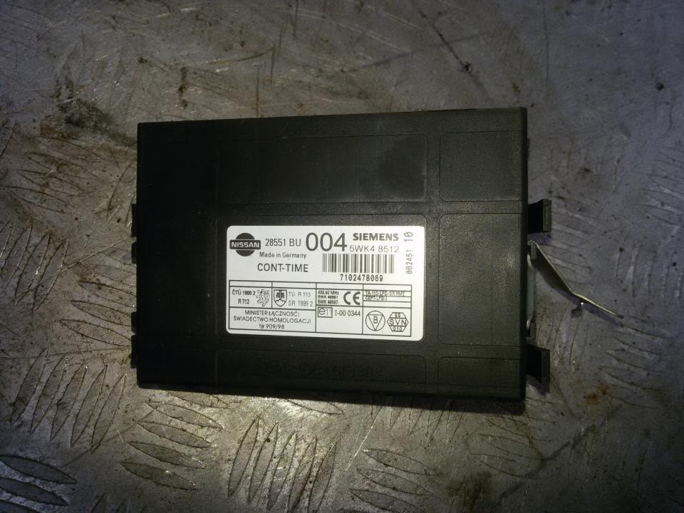 Komforto blokas 28551BU004 5WK48512 Nissan ALMERA TINO 2002 2.2