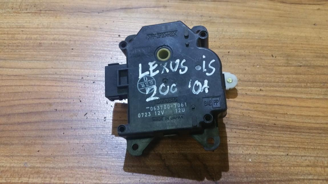 Peciuko sklendes varikliukas 0637007061 063700-7061, 0723, 12U Lexus RX - CLASS 2005 3.5