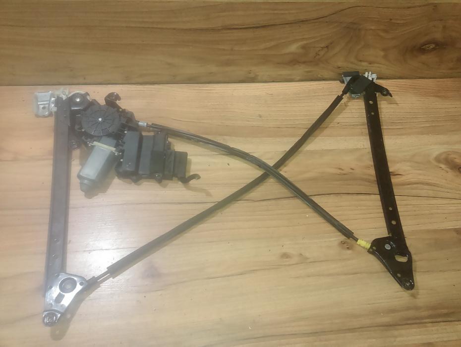 Door winder mechanism -  rear left side NENUSTATYTA NENUSTATYTA Ford GALAXY 1996 2.0