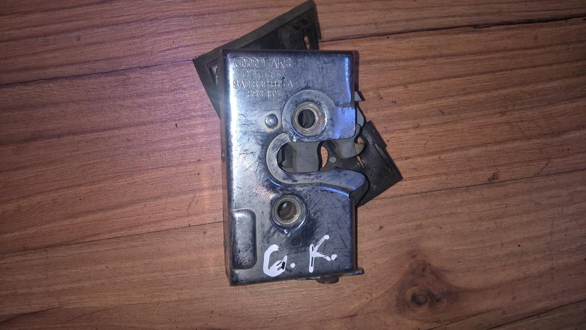 Door Lock Mechanism - rear left side 8a0839015a 893185 Audi 80 1992 2.0
