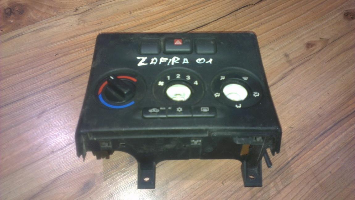 Блок управления климатической установкой 024420732 nenustatyta Opel ZAFIRA 2002 2.2