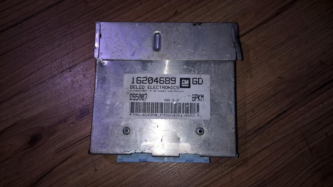 Блок управления двигателем 16204689 gd, d95007 Opel CORSA 1998 1.0