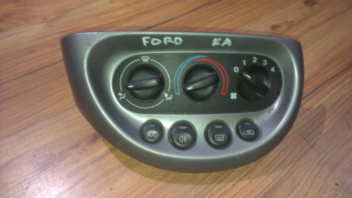 Climate Control Panel (heater control switches)