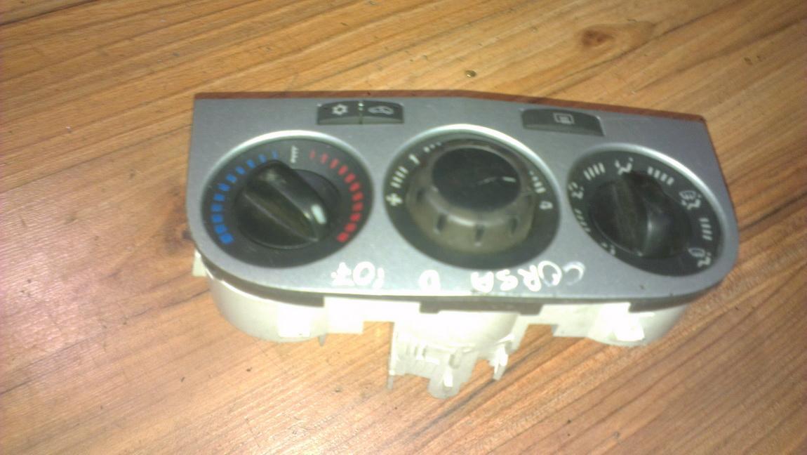 Peciuko valdymas 466113570 5e094010 Opel CORSA 2008 1.2