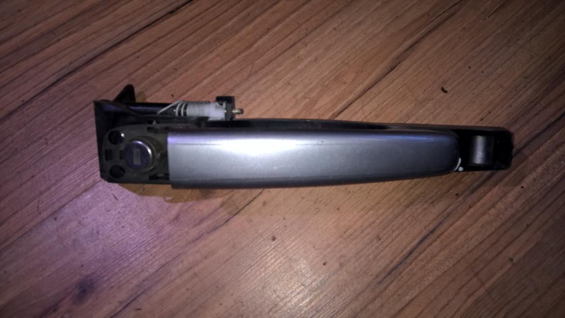 Ручка двери нaружная передний правый 9636408880 9639876380, 9634768280 Peugeot 307 2003 2.0