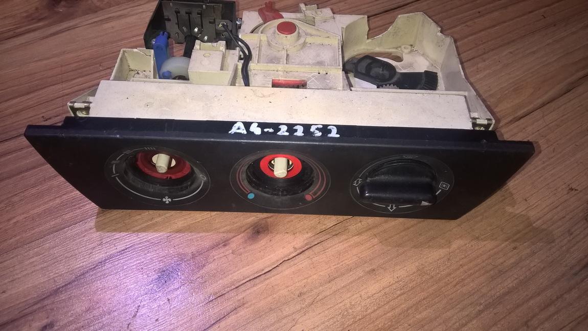 Блок управления климатической установкой NENUSTATYTA NENUSTATYTA Audi 100 1985 2.0
