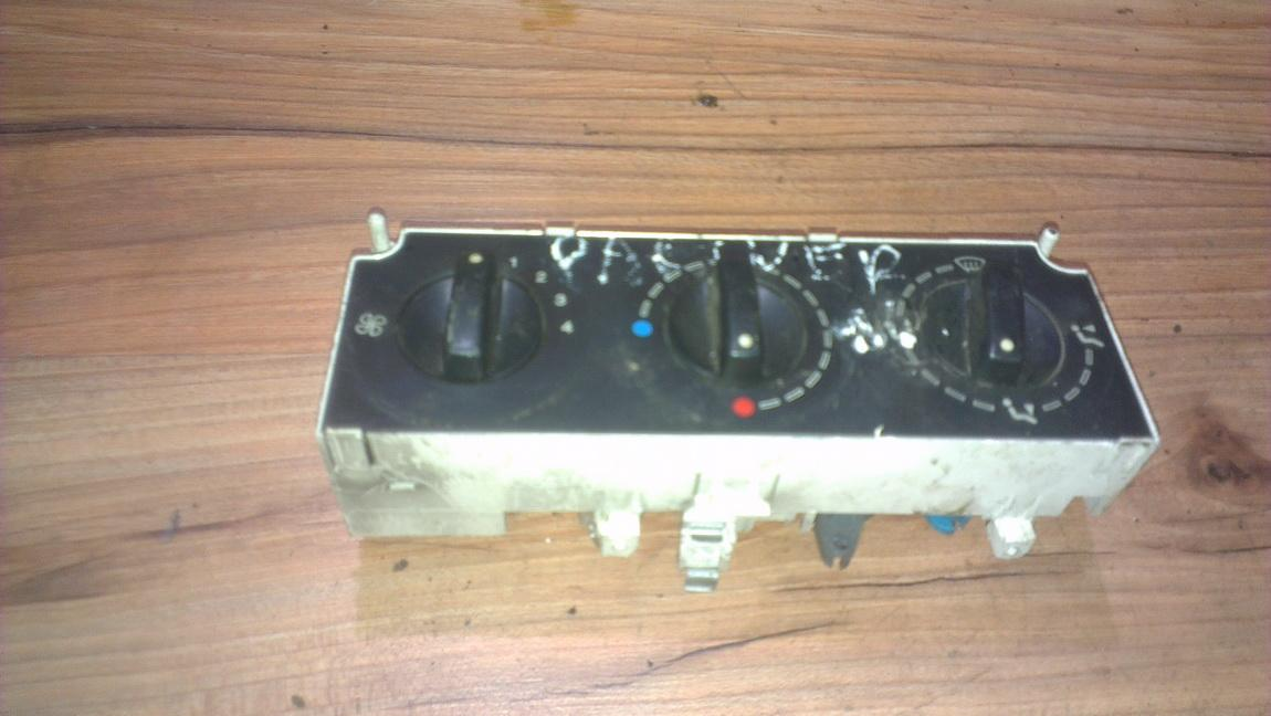 Climate Control Panel (heater control switches) 654984a nnustatyta Peugeot PARTNER 2005 2.0