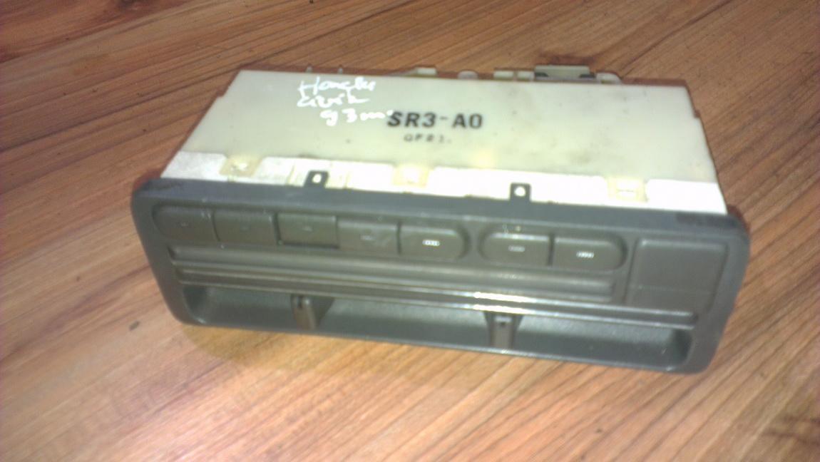 Peciuko valdymas NENUSTATYTA nenustatyta Honda CIVIC 1994 1.5