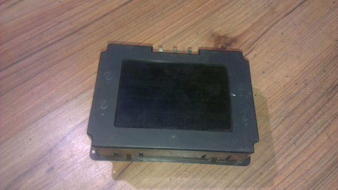 Бортовой компьютер дисплей (дисплей информационный) 90379234 5wk7441 Opel OMEGA 1996 2.0