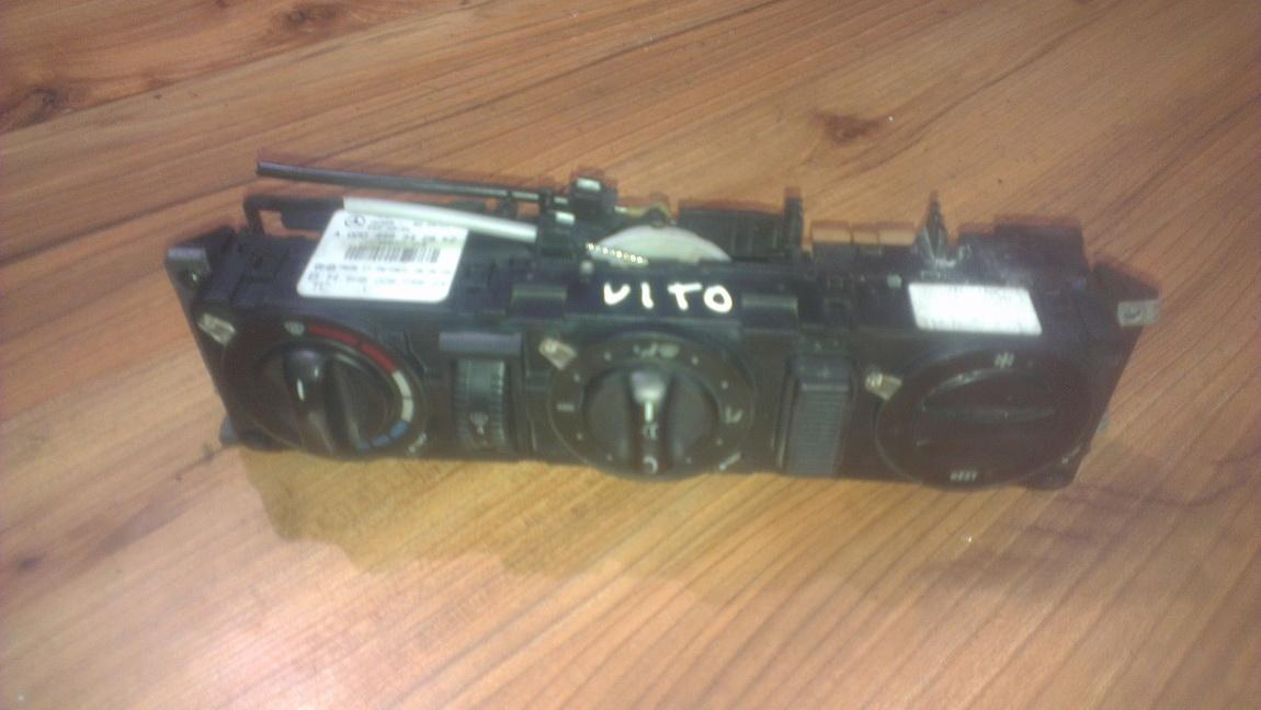 Climate Control Panel (heater control switches) 0004463428 5hb008058-04 Mercedes-Benz VITO 2005 2.2