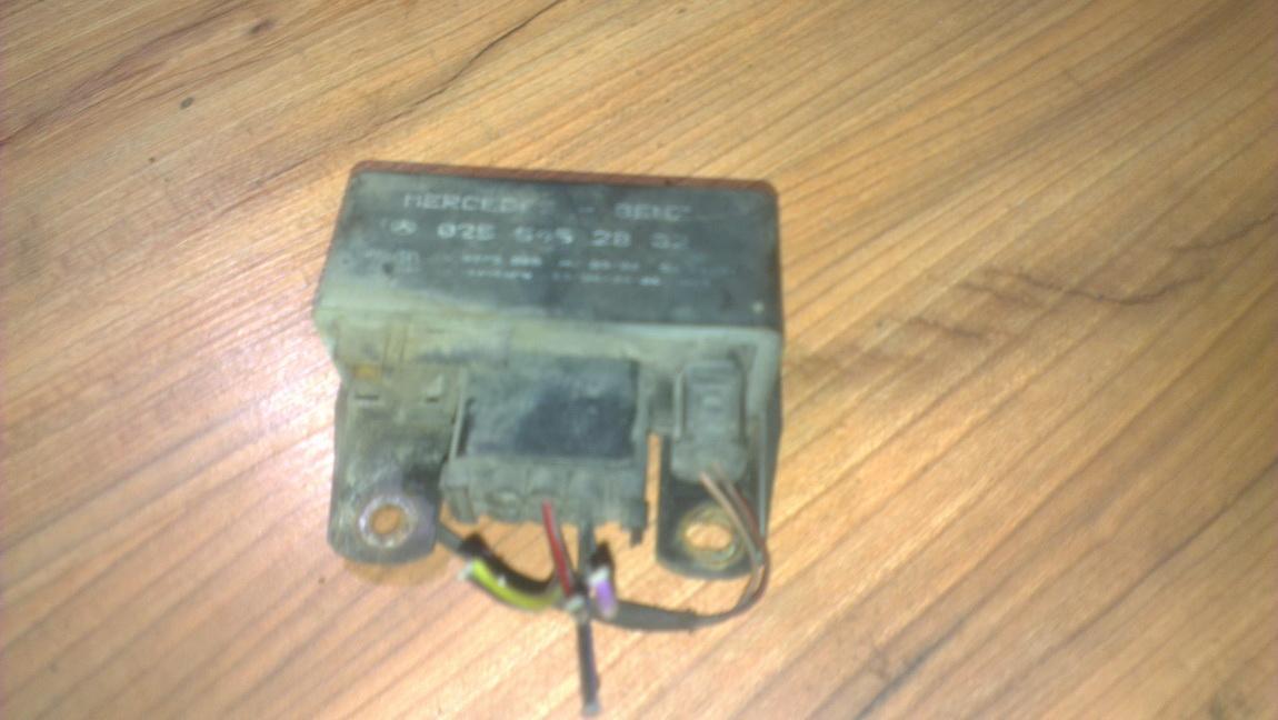 Zvakiu Pakaitinimo rele 0255452832 nenustatyta Mercedes-Benz VITO 2005 2.2