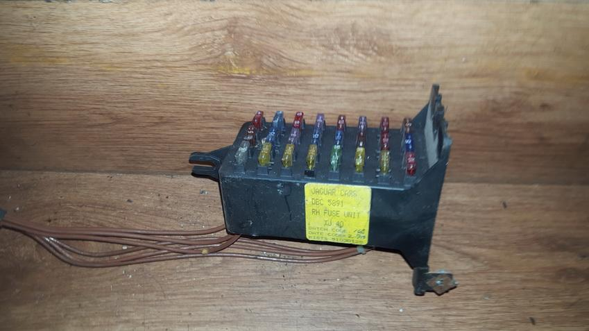JAGUAR XJ (XJ40_) Fuse Box DBC5891 XJ40 4377946 - dalys.lt on
