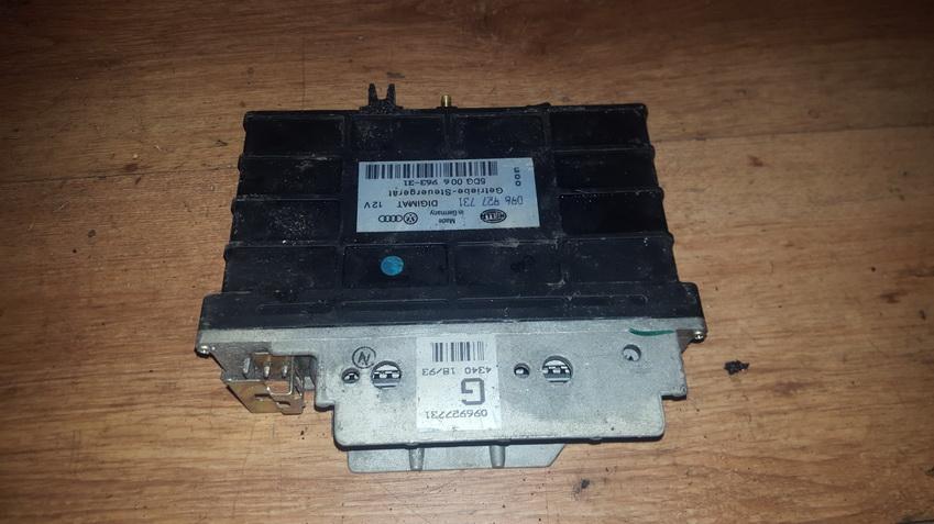 Greiciu dezes kompiuteris 096927731 5DG00696331 Volkswagen GOLF 2007 2.0