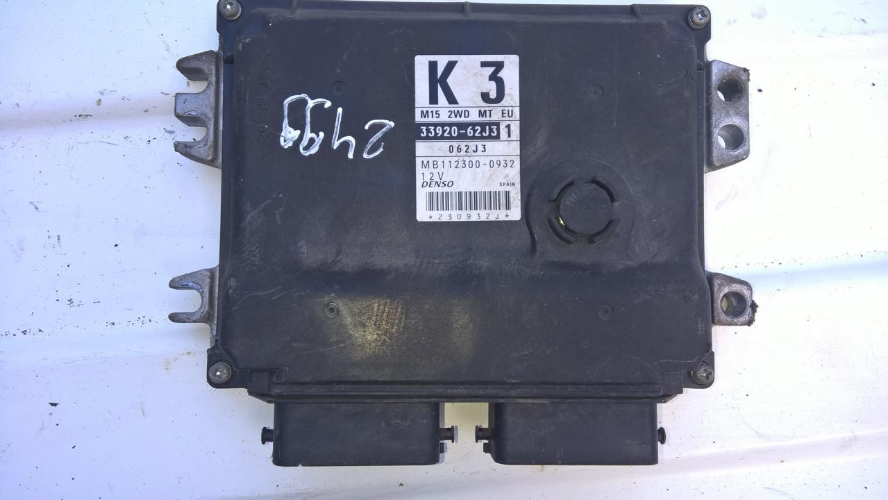 Variklio kompiuteris 3392062j3 33920-62j3, 062j3, mb112300-0932 Suzuki SWIFT 2006 1.5