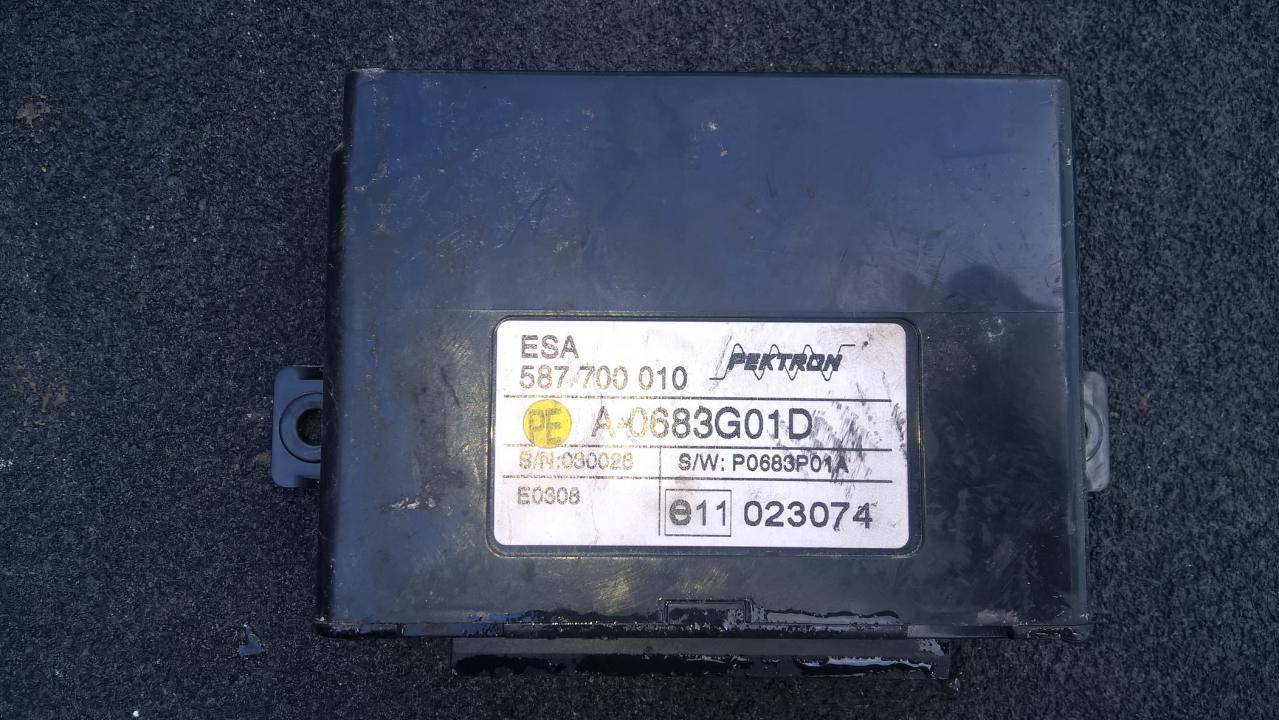 Kiti kompiuteriai 587700010 A-0683G01D, P0683P01A LDV MAXUS 2006 2.5
