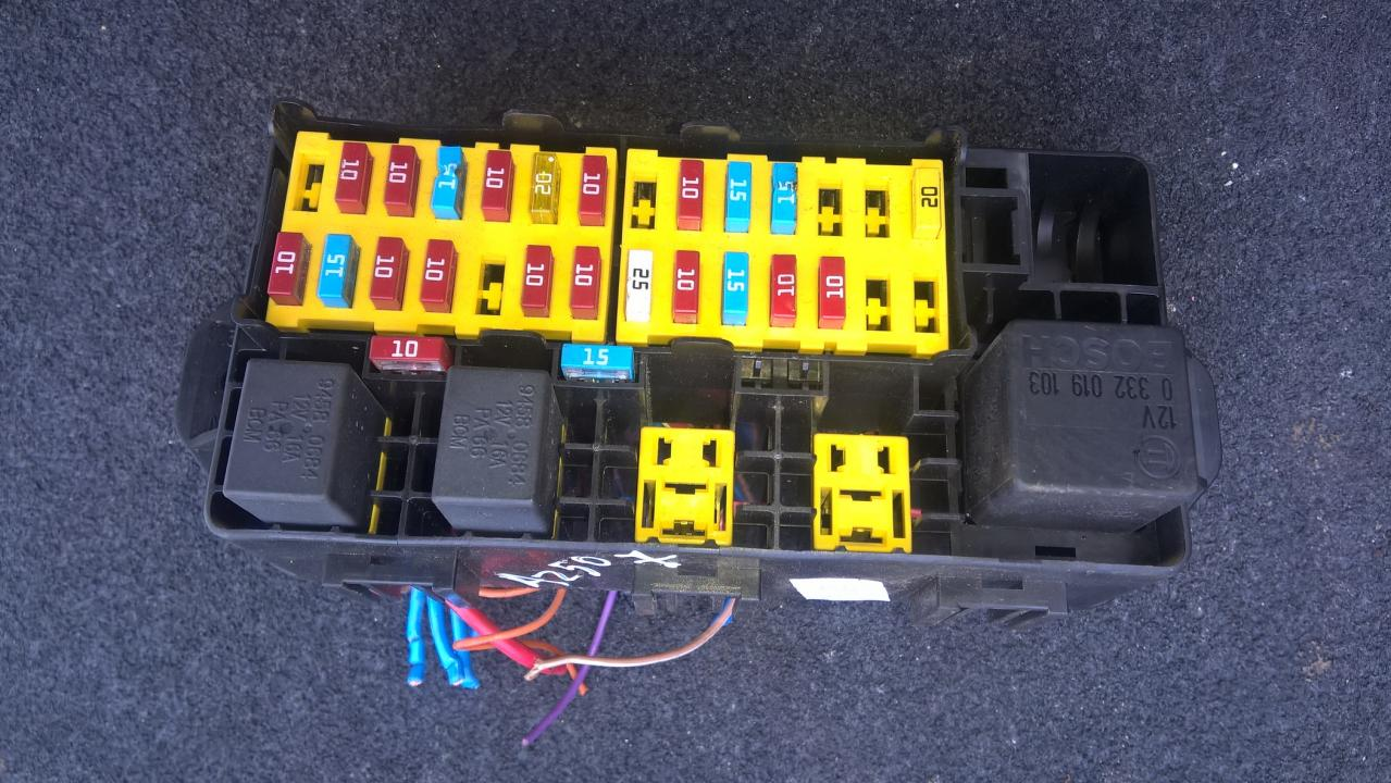 35836 Fuse Box Ldv Maxus 2005 25l 25eur Eis00092396 Used Parts Shop Ignition Switch Wiring Diagram