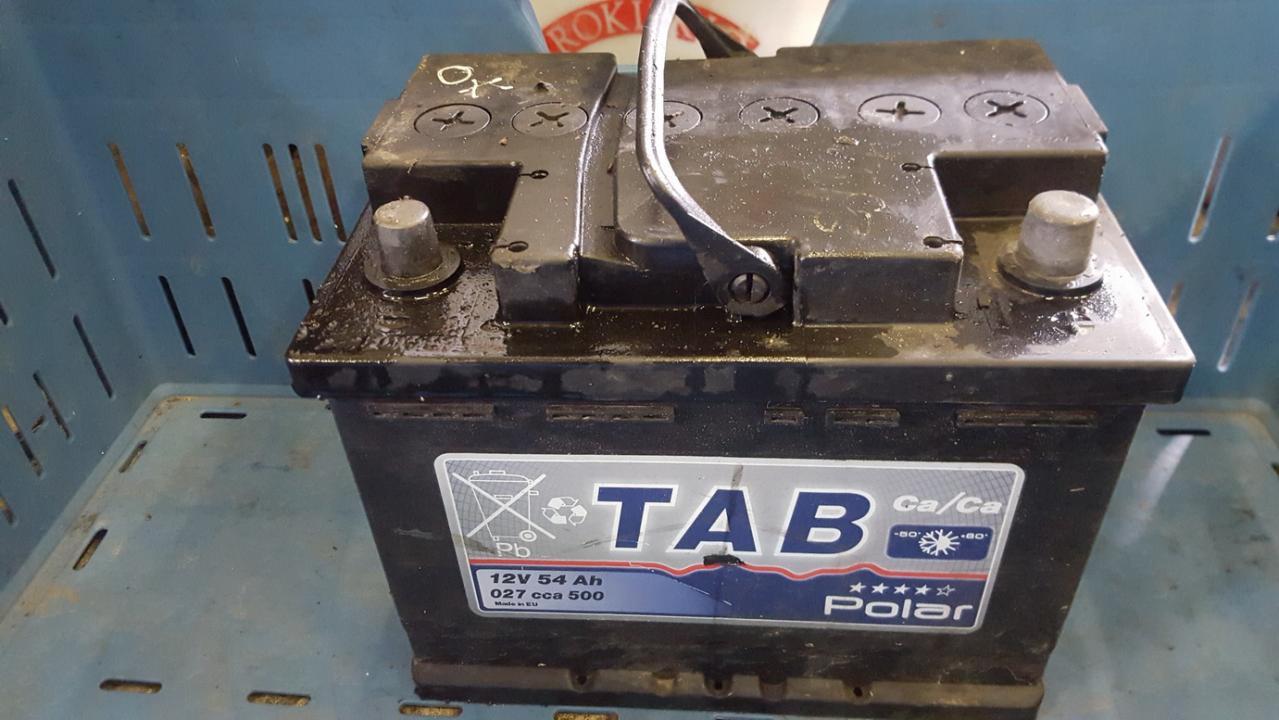 Car battery - Accumulator Opel Astra 2001    1.8 polar