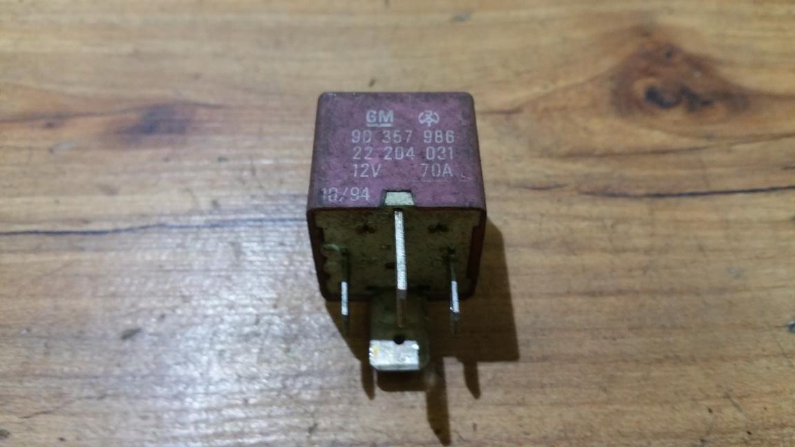 Rele gm90357986 22204031 Opel OMEGA 1994 2.5