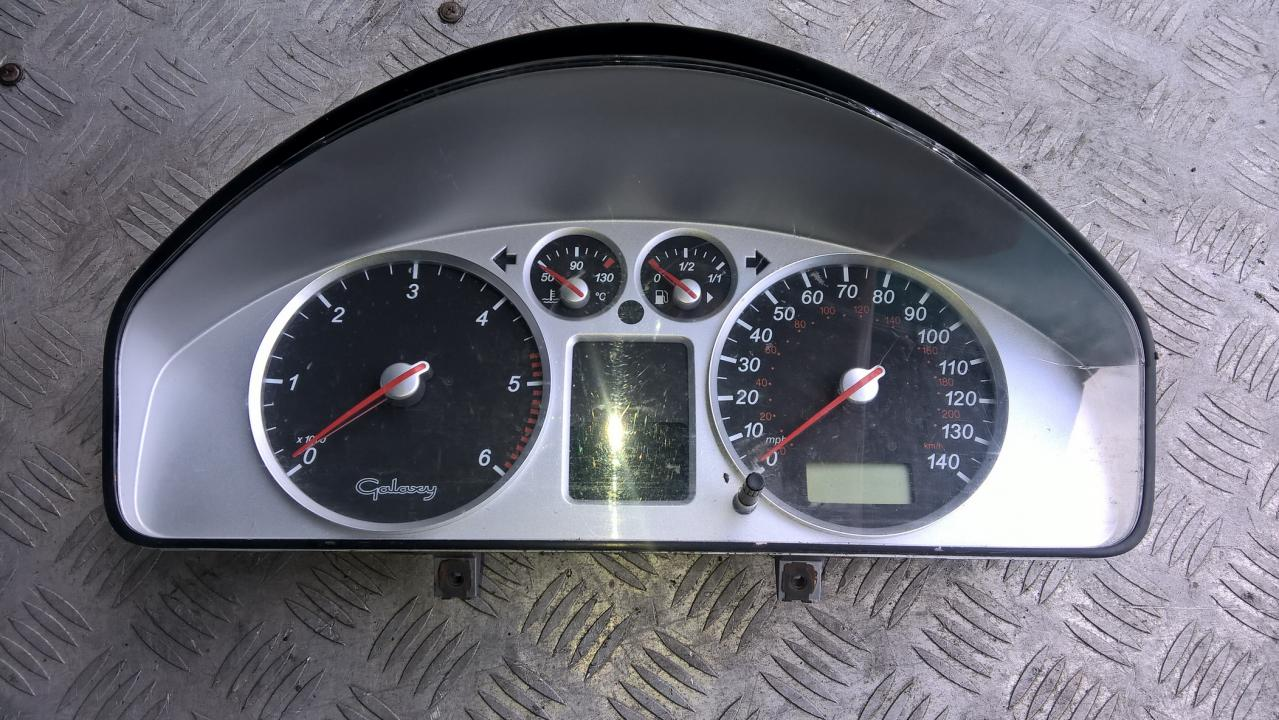 Spidometras - prietaisu skydelis 7M5920920N YM2110849ATD Ford GALAXY 1996 2.0