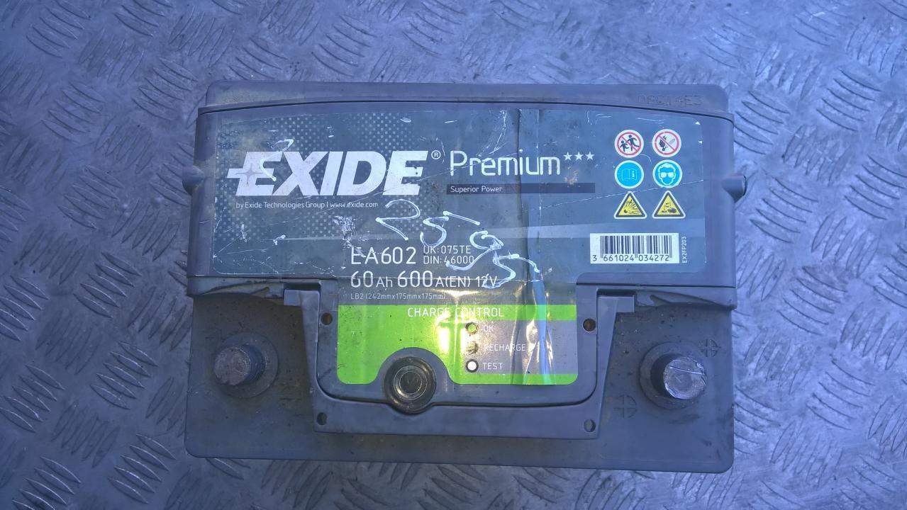 Baterija - Akumuliatorius NENUSTATYTA NENUSTATYTA Mercedes-Benz E-CLASS 2001 2.9