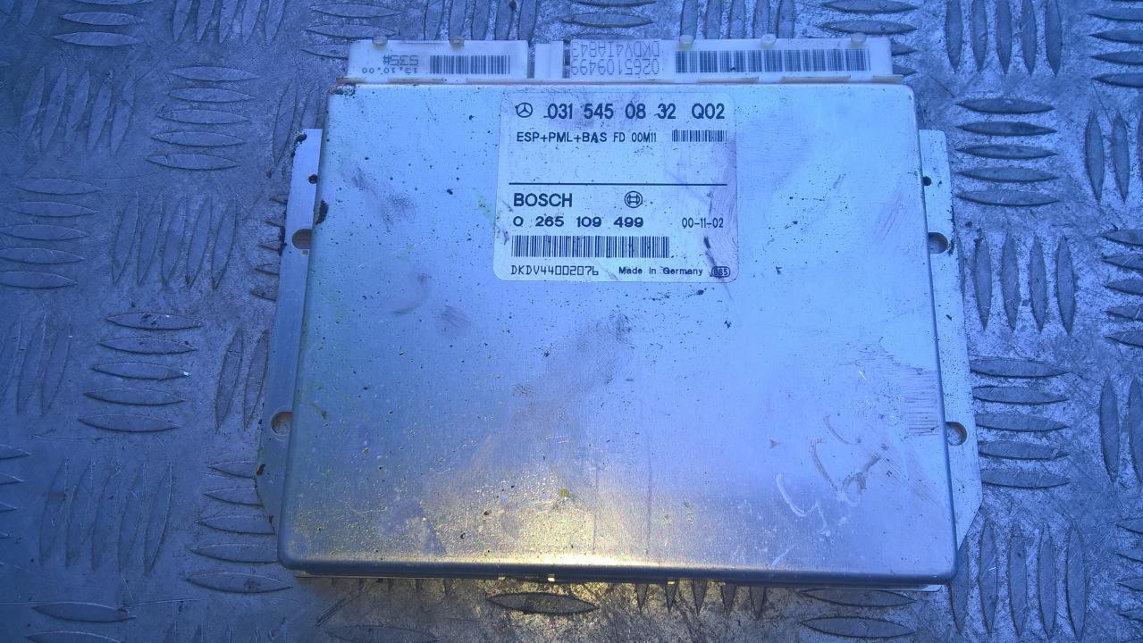 ESP PML BAS CONTROL UNIT ECU Mercedes-Benz E-CLASS 2001    3.2 0315450832