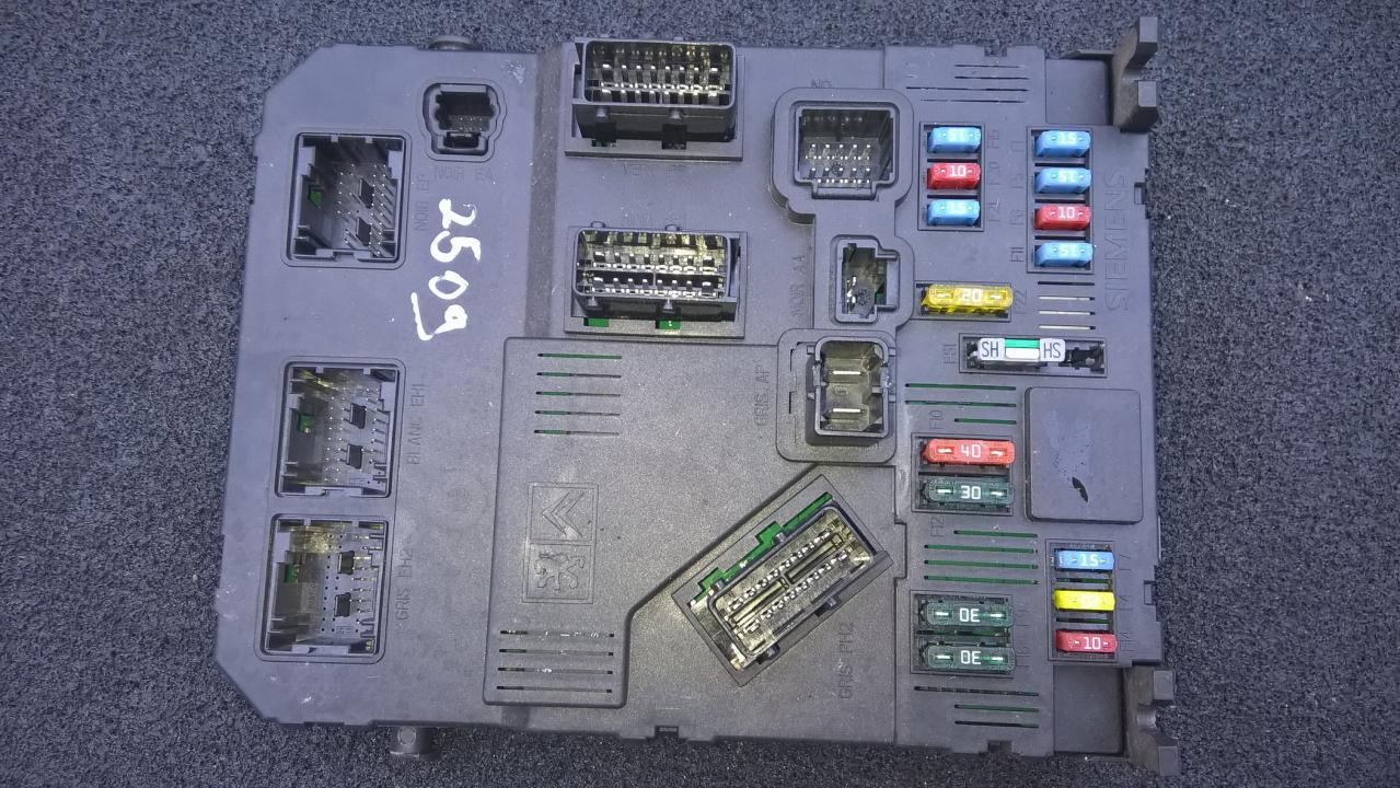 Komforto blokas 9653667680 s118085220e Citroen XSARA PICASSO 2006 1.6