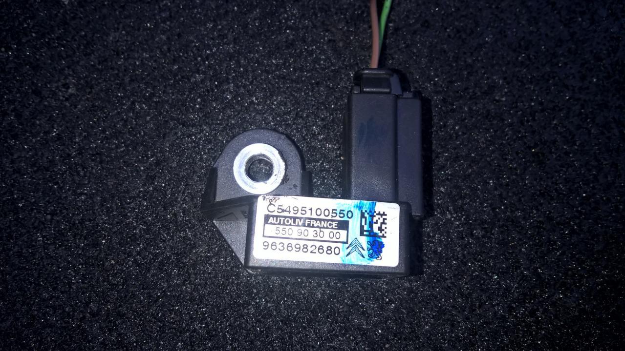 Srs Airbag daviklis 9636982680 550903000, c5495100550 Citroen XSARA PICASSO 2000 2.0