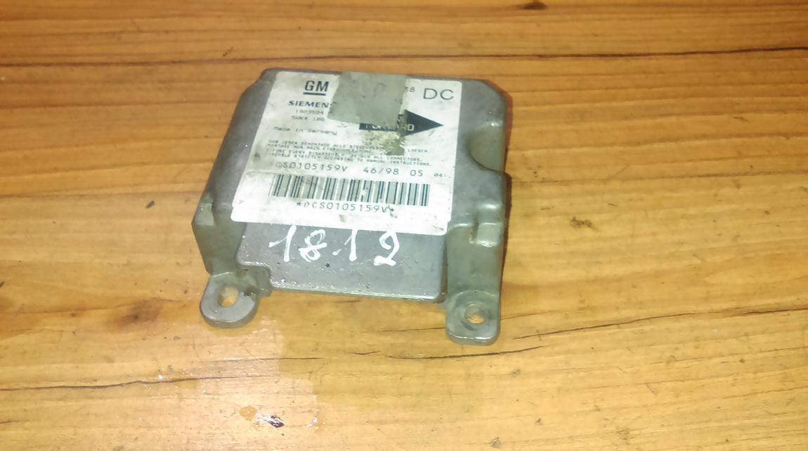 Airbag crash sensors module 90565938 1923594 Opel OMEGA 1994 2.0