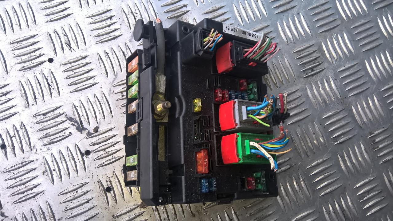 9646405180 21328852 Fuse box Peugeot 307 2002 1.4L 40EUR EIS00098811