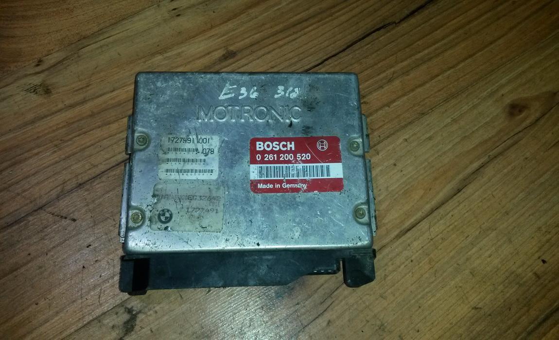 Variklio kompiuteris 0261200520 1727491 BMW 3-SERIES 2000 2.0