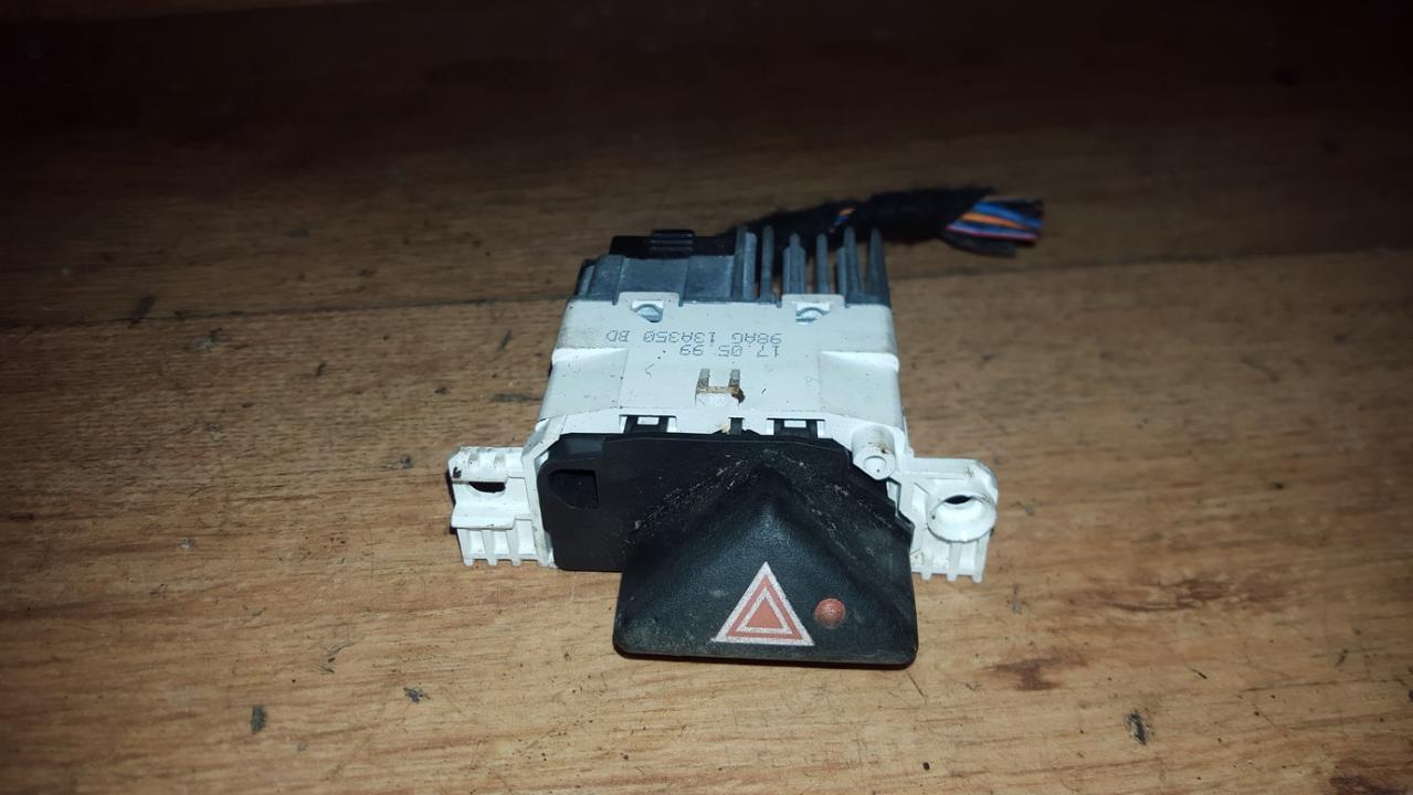 Hazard switch 98ag13a350bd n/a Ford FOCUS 2006 2.0