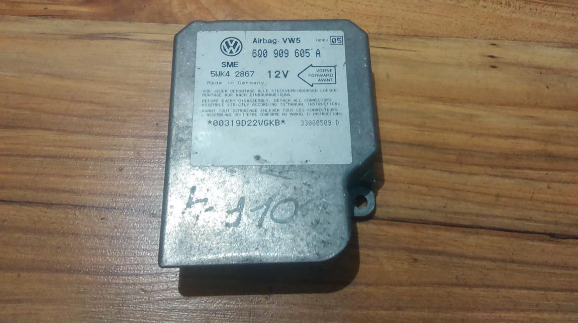 Airbag crash sensors module 6Q0909605A 5WK42867 Volkswagen GOLF 2006 1.6