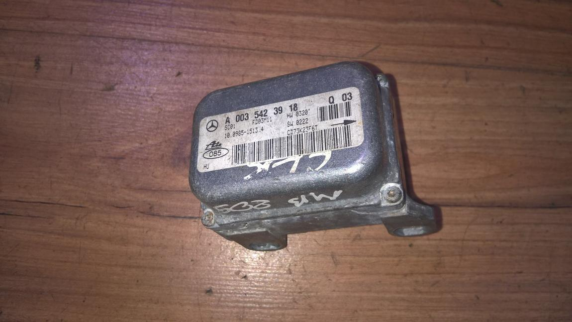 Esp Accelerator Sensor (ESP Control Unit) a0035423918 10.0985-15134 Mercedes-Benz CLK-CLASS 2005 2.7