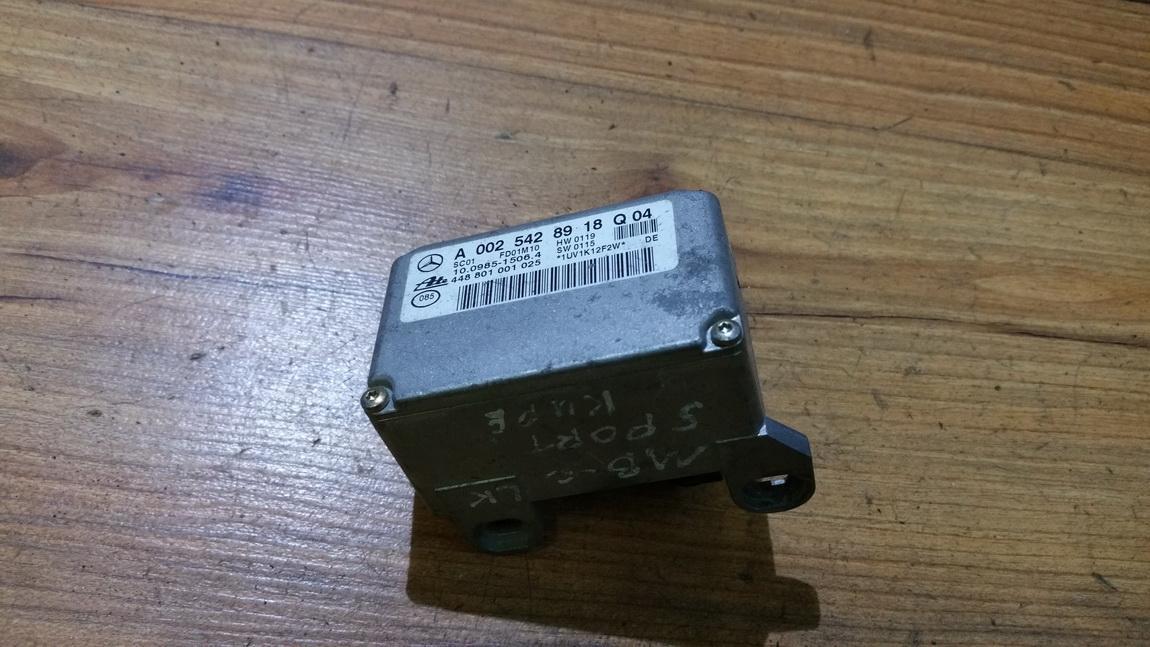 Esp Accelerator Sensor (ESP Control Unit) a0025428918 10098515064, 448801001025, hw0119, sw0115 Mercedes-Benz ML-CLASS 2002 2.7