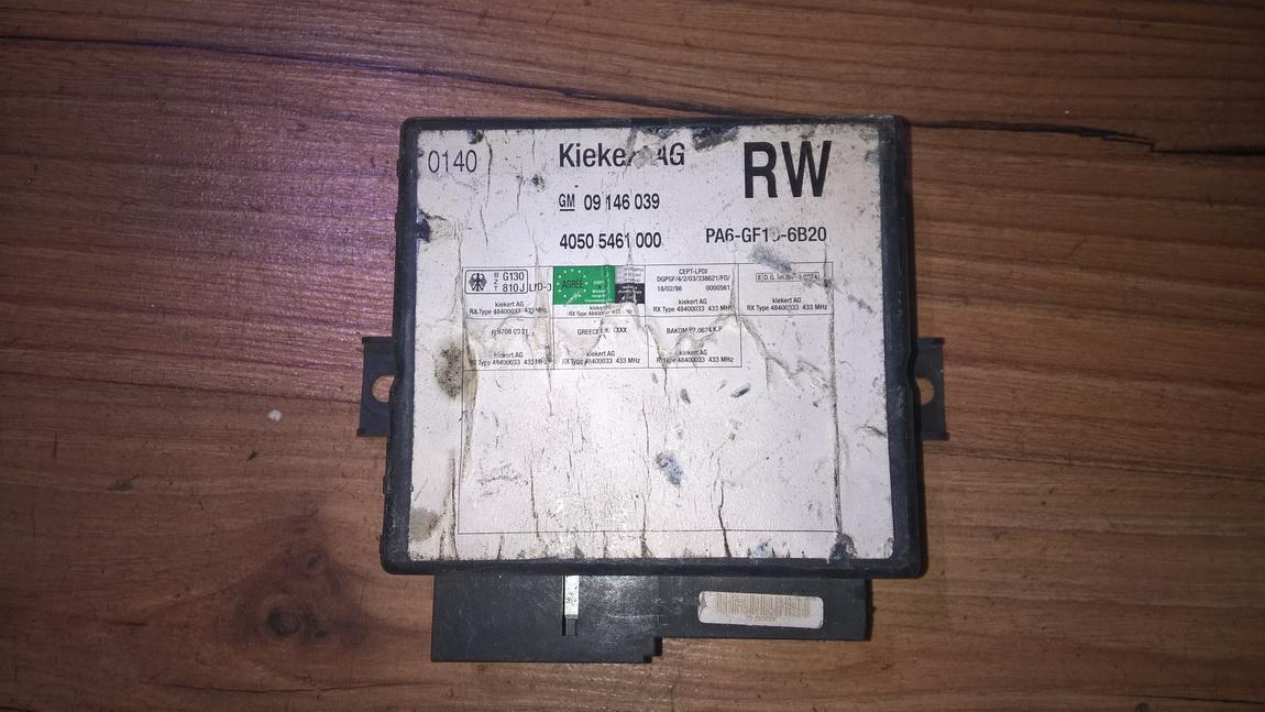 General Module Comfort Relay (Unit) 40505461000 09146039 Opel OMEGA 1996 2.0